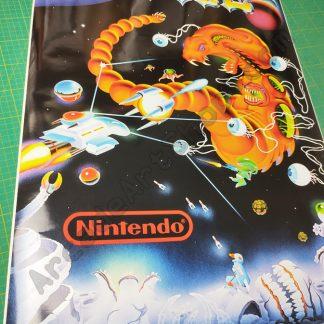R-Type side art Nintendo