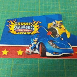 nos sonic all stars racing sub inst decal dash SSR-0002UK