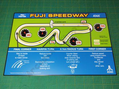 pole position topper map atari