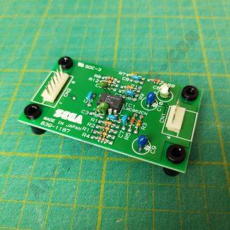 nos sega analogue stick amp pcb 839-1187