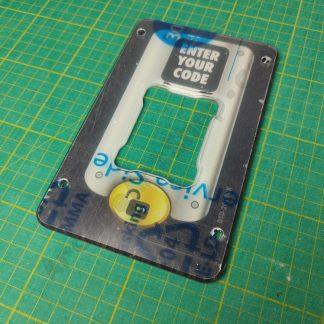 sega showdown keypad surround plate plastic DSD-2010UK