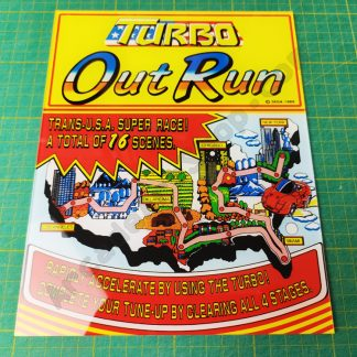 turbo outrun dlx map perspex