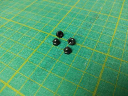 m3 cap nut black FAS-500006