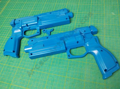 sega blue gun plastics casing set 253-5404-01