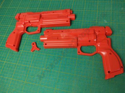 sega red gun plastics set 253-5404-02