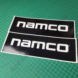 time crisis topper sides namco logo pair