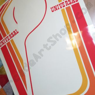 universal mr do side art pair