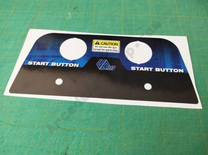 virtua cop 3 dlx button sheet VCT-2001-BUK
